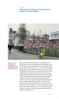 Exhibitions and the City: To Accelerate or Pause?