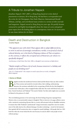 Death and Destruction in Bangkok