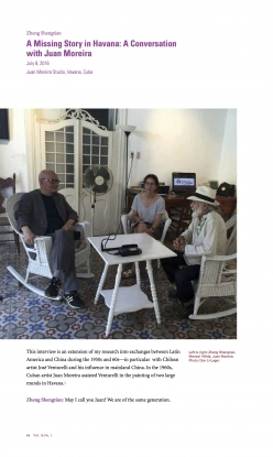A Missing Story in Havana: A Conversation with Juan Moreira
