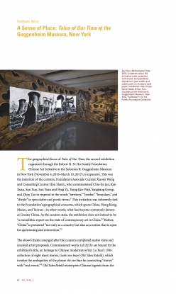 A Sense of Place: <em>Tales of Our Time</em> at the Guggenheim Museum, New York